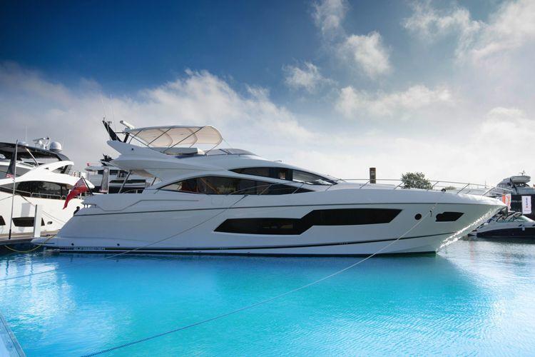 New Super Yacht Charter Sunseeker 80 Sport Yacht