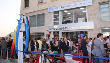 Inauguración Charter&Dreams - McQueen Luxury Toys Barcelona