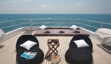 Healthy life, relax and more on board a Luxury Yacht