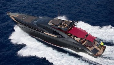 Ascari, one of the jewelry of Palmer&Johnson for chartering in Balearics