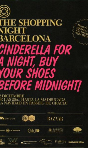 "Charter and dreams colaborador en ""the shopping night Barcelona"""